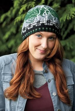 Emma's Storm I Hat - Pattern download - how cool is this handmade hat!