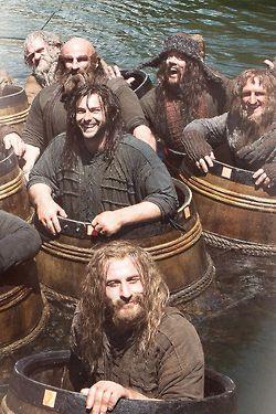 Love the barrel scene!                                                                                                                                                                                 More