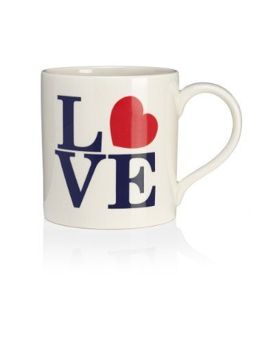 Alphabet Heart Mug - Marks & Spencer £6.