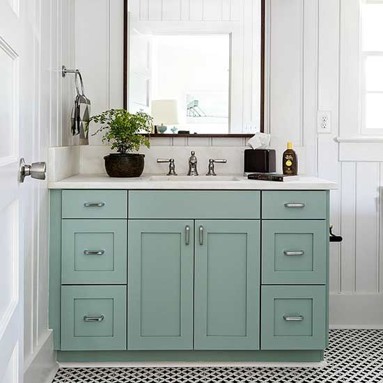 These trendy cabinet paint colors can work for kitchen or bathroom cabinets in your home. We're sharing the best paint colors to use when remodeling your cabinets. These color trends are timeless options that will make any room look more beautiful.