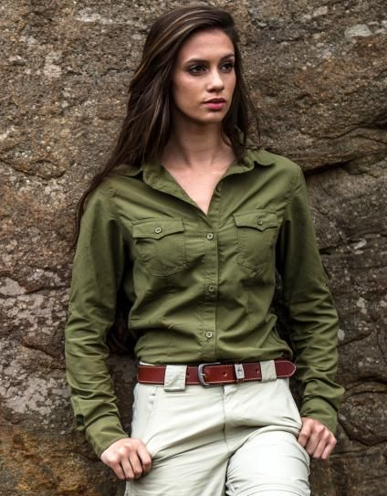 Women's Rufiji MaraTech SafariElite Long Sleeve Shirt :: The Safari Store :: Essential Safari Clothing, Safari Luggage, Safari Accessories. FREE Safari Packing Lists & Expert Advice.