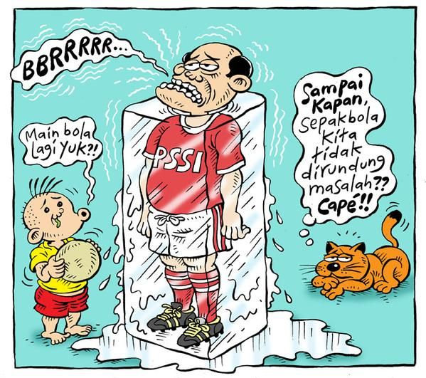 Mice Cartoon, Rakyat Merdeka, April 2015: PSSI