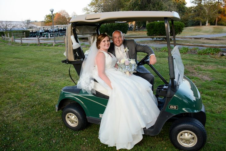 """""""My husband and I only looked at 2 venues.  The first one was Pheasant Run and we only looked at another one because we thought we had to just to solidify the fact that we loved Pheasant Run immediately.  ...What I loved about Pheasant Run was having everything be in one place: ceremony, reception, and overnight accommodations."""" - Cristin Bergeson #weddings #wedding #weddingvenue #brides #golfcoursewedding #outdoorwedding #chicagowedding #chicago photo credit: George Street Photo"""
