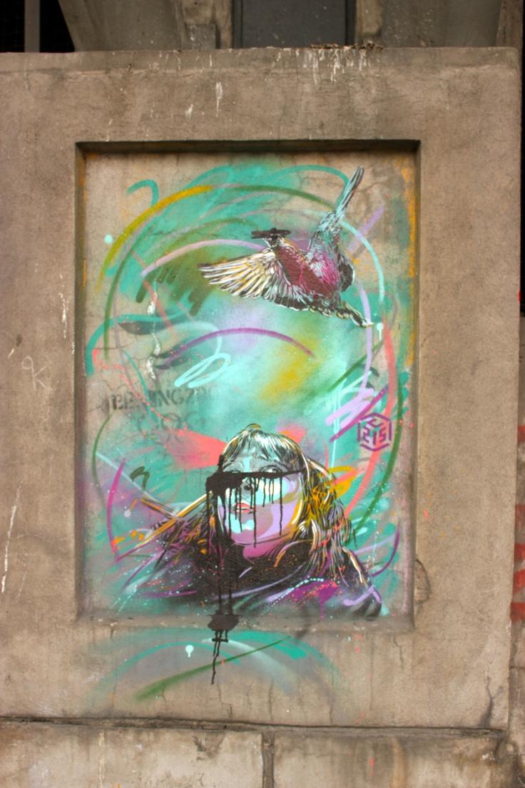 Grafitti art oslo - Oslo Norway By C215
