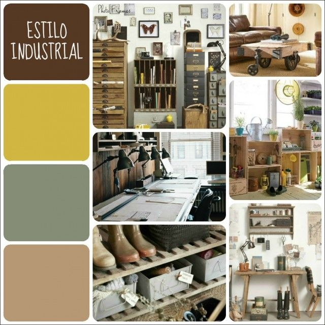 M s de 25 ideas incre bles sobre muebles estilo industrial for Estilos de diseno industrial