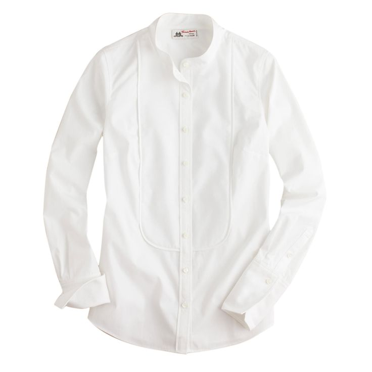 The Best White Shirts To Snap Up Now - Best Tuxedo Style from InStyle.com