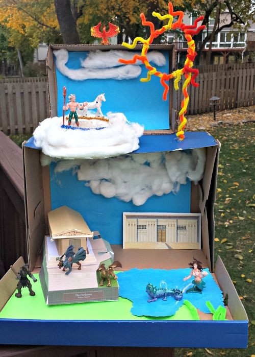 Tips for Creating Your Own Mini-World -- creative playscapes for kids!  Fun ideas for class projects.