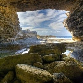 Preachers Cave at The Cove Eleuthera Bahamas