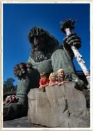 Troll themed amusment part in Lillyhammer, Norway