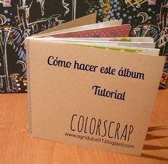 Tutorial: Mini álbum fácil de scrap con washi tape