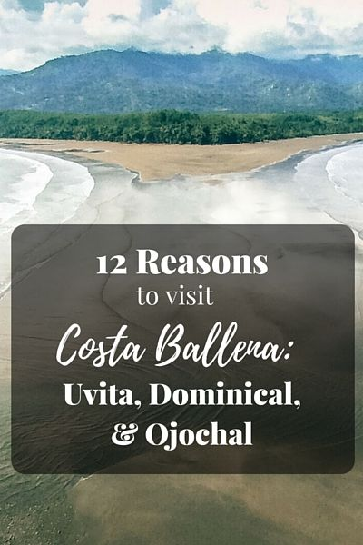 Costa Ballena, a region in South Pacific Cost Rica is still fairly unknown, attracting primarily off the beaten path travelers and adventure lovers, but we think there are plenty of reason to include a visit to this part of the country into every traveler's itinerary! Check out our tips for visiting the regions towns of Uvita, Dominical, and Ojochal.
