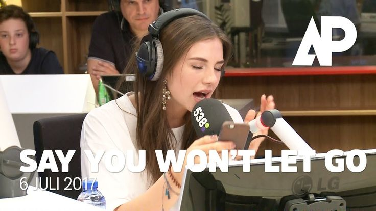 Maan covert 'Say You Won't Let Go' van James Arthur | De Avondploeg