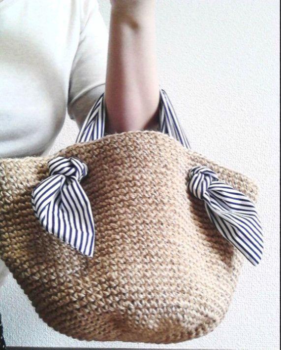Паралич также Marche мешок   корзина сумка   ручной почтовый заказ и продажа Creema   Chouchou M в