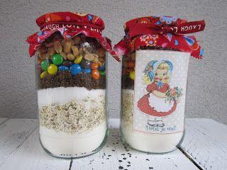 Biene Bien: Koekjes voor de juf  voor afscheid kinderdagverblijf Marre?