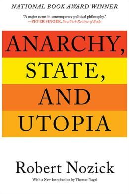 Anarchy, state, and utopia by Robert Nozick. Classmark: 37.1.NOZ.2a