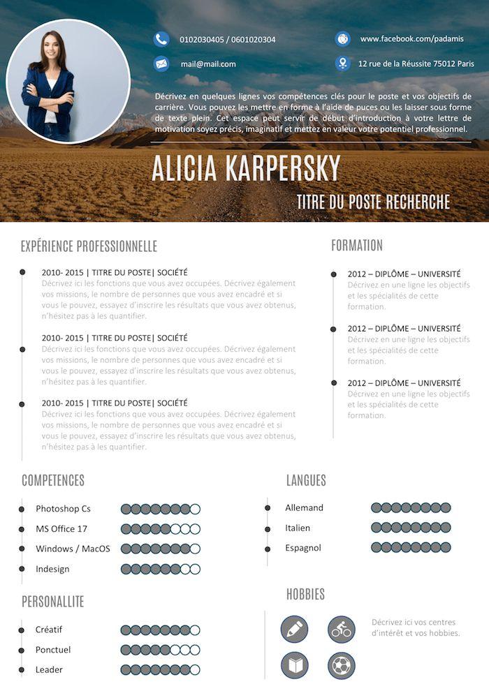 CV Graphique