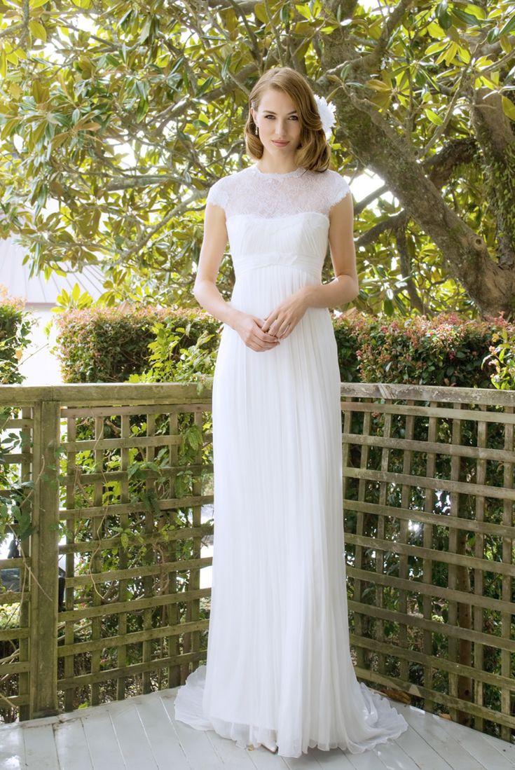 Elizabeth - lace, pleats, high-waist, flowing skirt