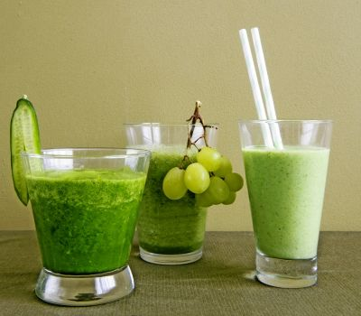 Healthy Green Smooties