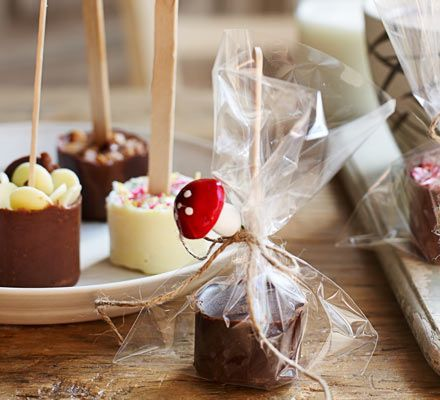 We all know a few die hard chocolate fans - make them one of these hot choc stirrers as a gift and they'll never want to use powdered cocoa again