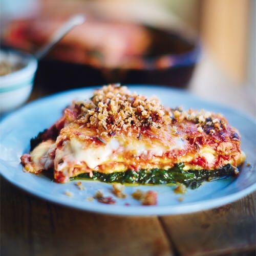 Jamie Oliver: lasagne met krokante eend - recept - okoko recepten