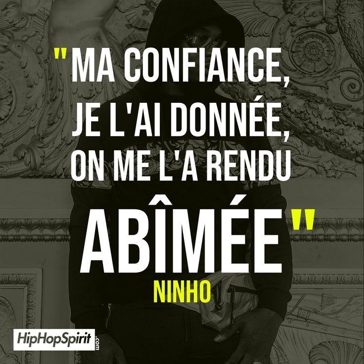 Ma Confiance Je L Ai Donnee On Me L A Rendu Abimee Ninho