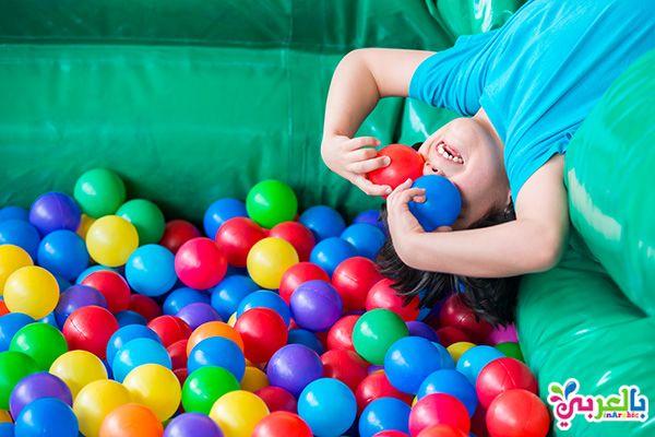 افكار ليوم الطفل العالمي 20 فكرة لحفلات عيد الطفولة بالعربي نتعلم Activities For Kids Activities Ball Exercises