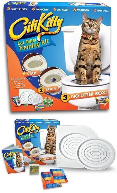 Other Cat Supplies 1284: Cat Toilet Training System Kit Tray Potty Pads Seat Mat Pet Supplies Seen Shark -> BUY IT NOW ONLY: $40.82 on eBay!