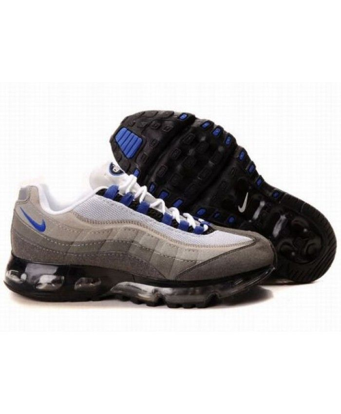 new style c89c3 be357 Nike Air Max 95 360 Royal Blue Dark Grey Trainers