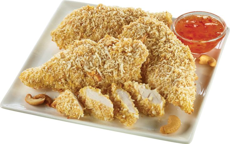 Cashew-Coconut-Crusted Chicken Breast (Oven-Baked) from #YummyMarket