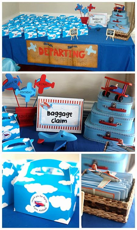 419 best plane birthday party images on Pinterest Planes