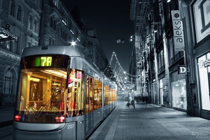 Tram 7A Helsinki by Pajunen on DeviantArt