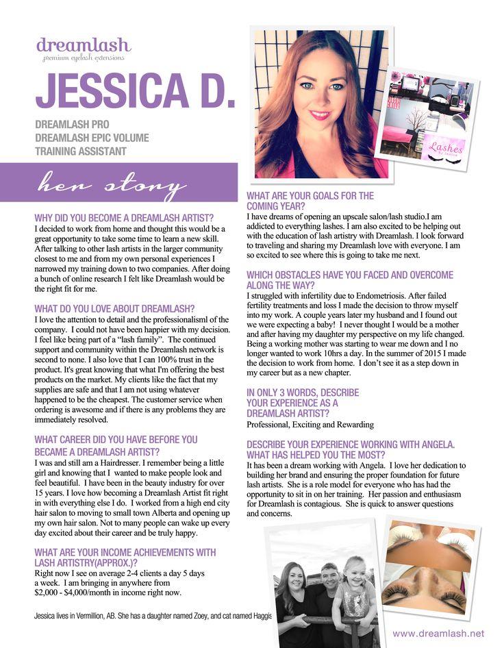 Meet Jessica D. Dreamlash Lash Artist