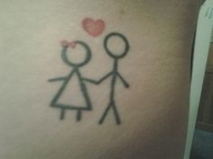 stick figure tattoos google search more stick figure tattoo stick ...