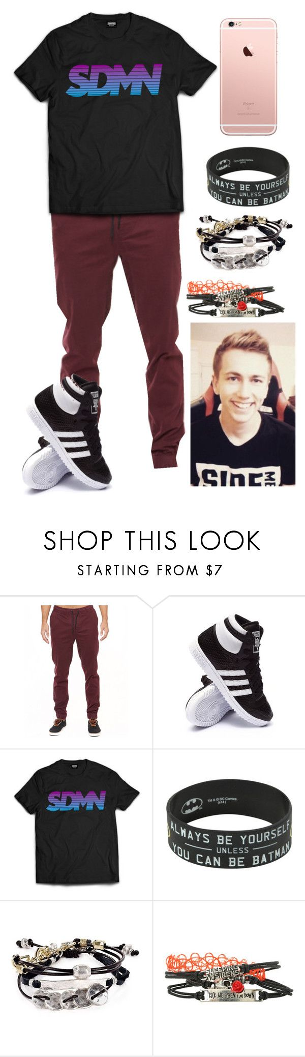 """""""Female MiniMinter -Simon"""" by mriss-abbrie ❤ liked on Polyvore featuring adidas and Robert Lee Morris"""