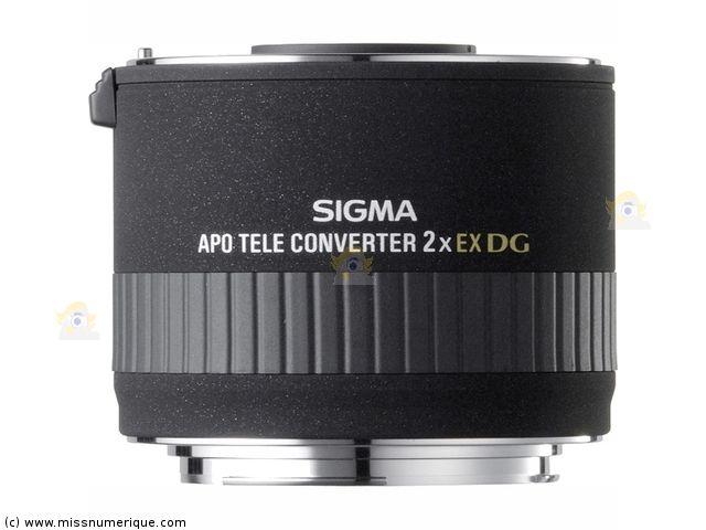 Multiplicateur SIGMA 2x APO DG EX monture CANON en stock à prix discount - Miss…