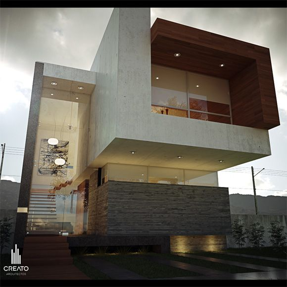 Architecture interior design pinterest architecture - Modern vila design ...