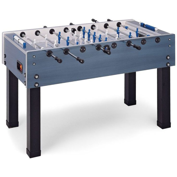 Garlando G-500W 56 in. Outdoor Foosball Table Blue - IMP 26-7930