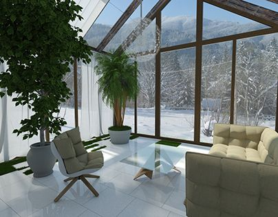 "Check out new work on my @Behance portfolio: ""winter garden"" http://on.be.net/1Oan4DY"