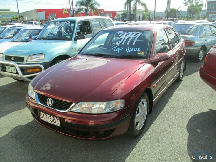 2000 Holden Vectra JS2 CD MY01
