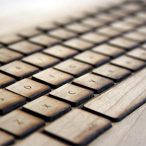 Dear Diary | Desktop | Gear wooden keyboard laser cut