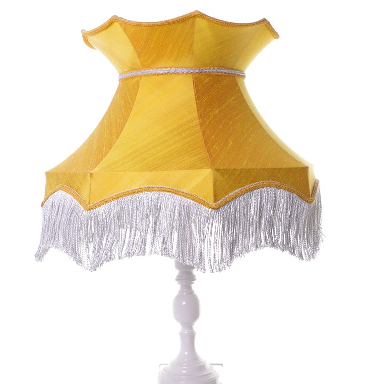 Large crown shaped lampshade made from gold silk fits a standard lamp or ceiling search for lisa lampshades on folksy