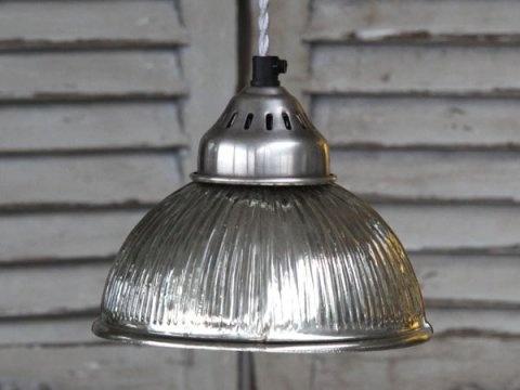 Silberglaslampe Mit Rillen Shabby Homestyles Com