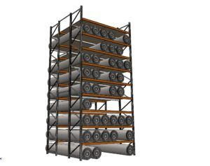 Carpet Rack - Macrack Australia, Mansfield Qld. Call on 1800 048 821 for more info and free design and quote service.