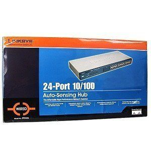 Cisco-Linksys EF2H24  24-Port Etherfast II 10/100 Autosensing Hub by Cisco. $110.00. Linksys EtherFast II EF2H24 Ethernet Hub - 24 x - Ethernet Hub. Save 68% Off!