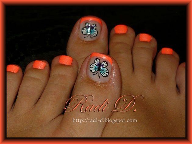 pedicure toenail art