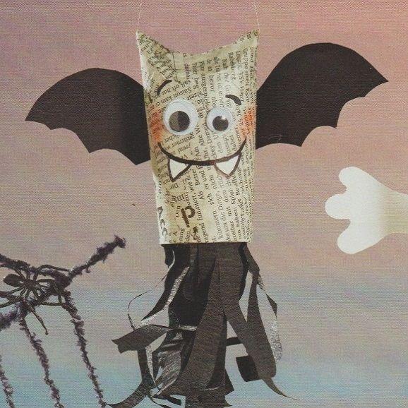 Bricolage Halloween Avec Un Rouleau De Papier Toilette