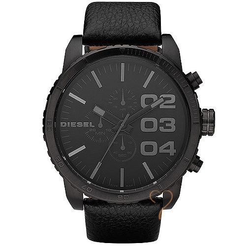 Ρολόι Diesel Franchise 51 Chrono Black Dial