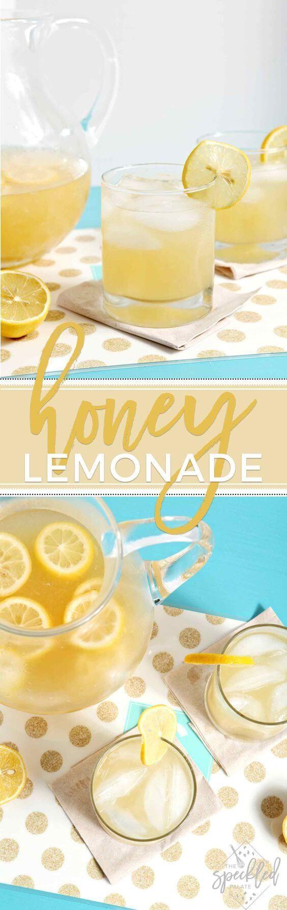 Honey Lemonade http://juicerblendercenter.com/how-to-find-the-best-fruit-and-vegetable-juicer/