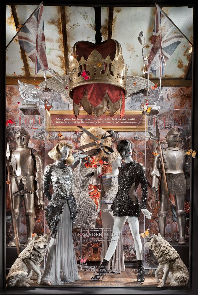 Alexander McQueen Savage Beauty Window © Ricky Zehavi 2011