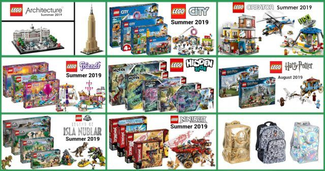 Lego Hidden Side Now Available With More Than 65 Other New Lego Sets And Gear News Lego News Harry Potter Advent Calendar Lego Sets